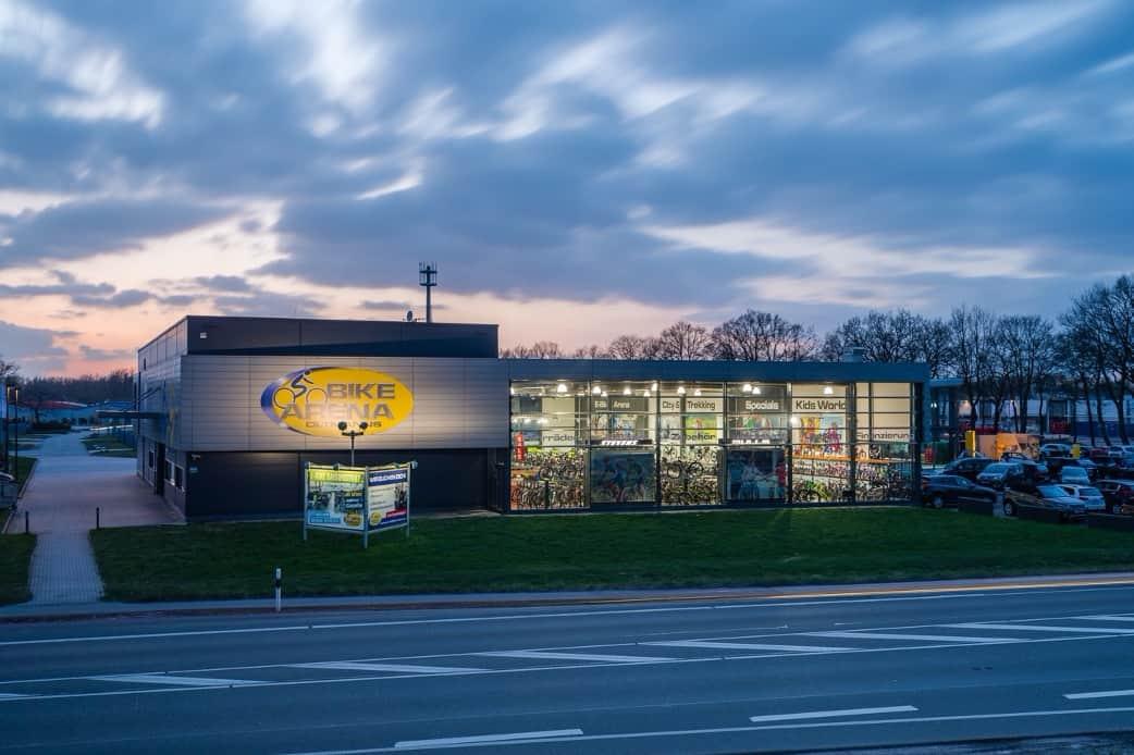 Die Bike Arena Oltmanns in Leer (Ostfriesland)
