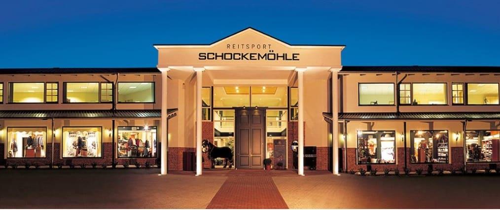 Der Destination-Store von Reitsport Schockemöhle in Mühlen bei Osnabrück.