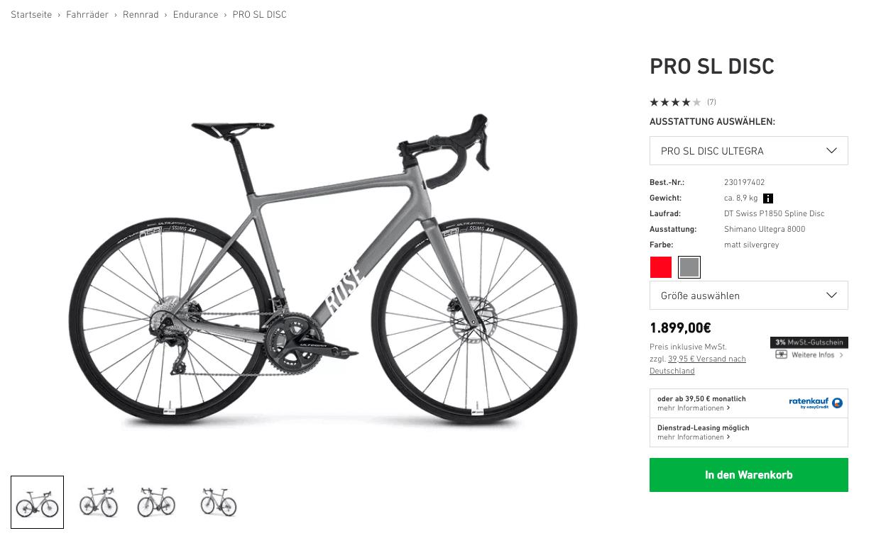 Screenshot ROSE Online Shop